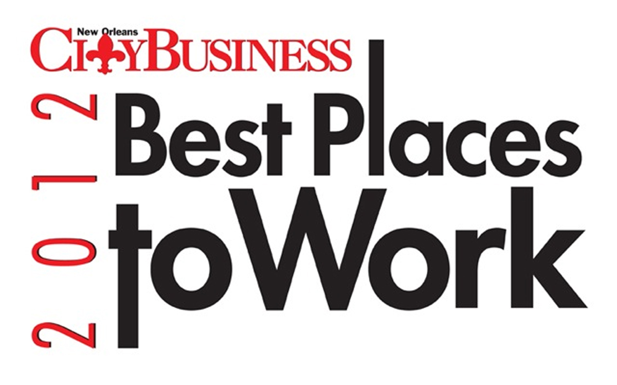 CityBusiness Best Places to Work 2012 Logo
